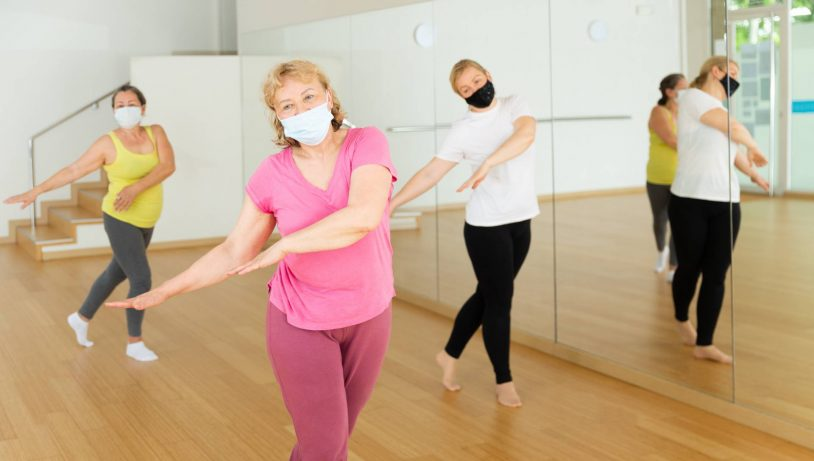 mature women dancing